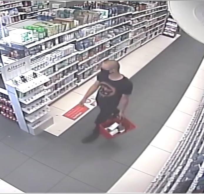Ok. 20-letni mężczyzna ukradł z drogerii na terenie Wąbrzeźna 6 sztuk markowych perfum o łącznej wartości ok. 900 zł
