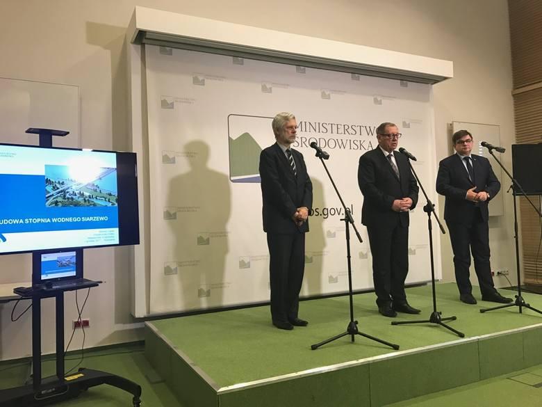 Porozumienie w sprawie budowy Stopnia Wodnego Siarzewo zostało podpisane w ministerstwie środowiska, gospodarki morskiej i żeglugi śródlądowej oraz energii,