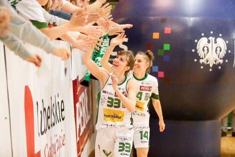 Koszykarki Pszczółki Polski-Cukier AZS UMCS Lublin zanotowały swój najlepszy sezon w historii występów w najwyższej klasie rozgrywkowej