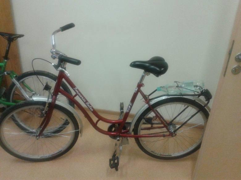 Na zdjęciu rowery odebrane złodziejom przez strażników miejskich.