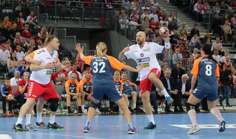 Mecz Handball Legends - Politechnika Śląska