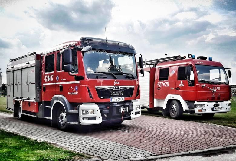 Kolejne dofinansowanie zewnętrzne otrzymały jednostki Ochotniczej Straży Pożarnej z gminy Skalbmierz na zakup sprzętu i wyposażenia osobistego druhów