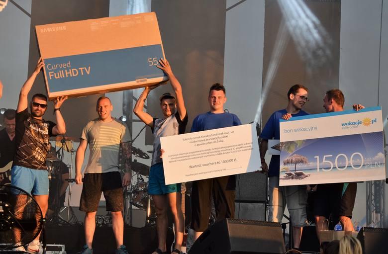 Podczas Dni Inowrocławia 2018 zorganizowano tradycyjne zawody w ślizgu wodnym. Rywalizowały trzyosobowe drużyny. Nagrodą był m. in. 55-calowy telewizor