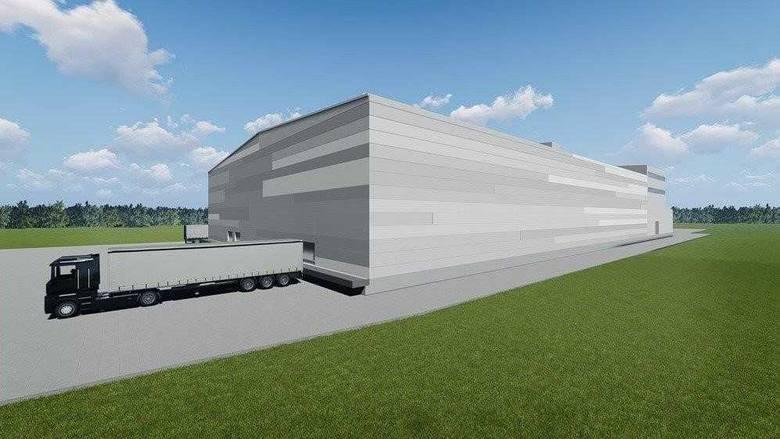 Tak ma wyglądać centrum logistyczne. W jego skład będą wchodziły magazyny i pakownia cukru.