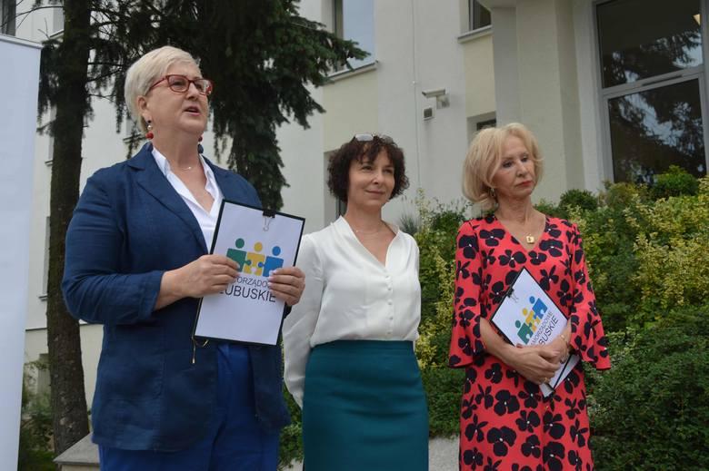 Wioleta Haręźlak, Beata Kulczycka i Aleksandra Mrozek tworzą Samorządowe Lubuskie