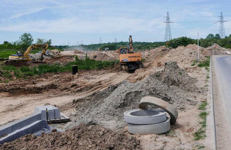 """Budowany właśnie łącznik ulicy Podkarpackiej z węzłem S19 """"Rzeszów-Południe"""" w Kielanówce to część trasy, jaka ma powstać do al. Sikorskiego po wybudowaniu tzw. drogi południowej"""
