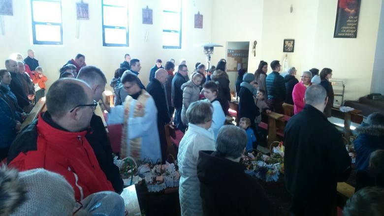 Święcenie potraw w szczecińskich kościołach