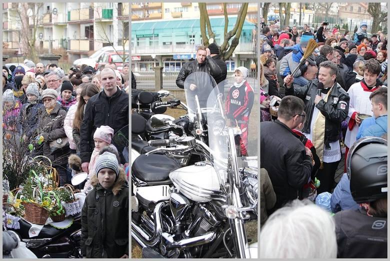 Głośno i tłumnie było w Wielką Sobotę na tradycyjnej Motoświęconce w parafii Św. Stanisława we Włocławku. >> Najświeższe informacje z regionu,