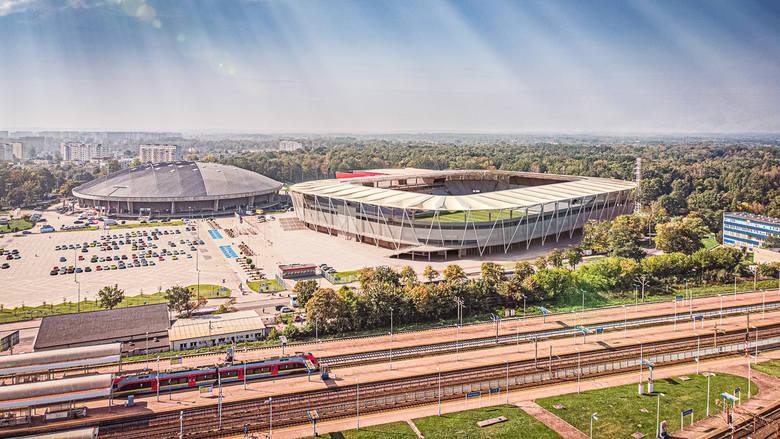 Wiemy jak będzie wyglądał stadion ŁKS. Konferencja prasowa ws. obiektu w al. Unii 2