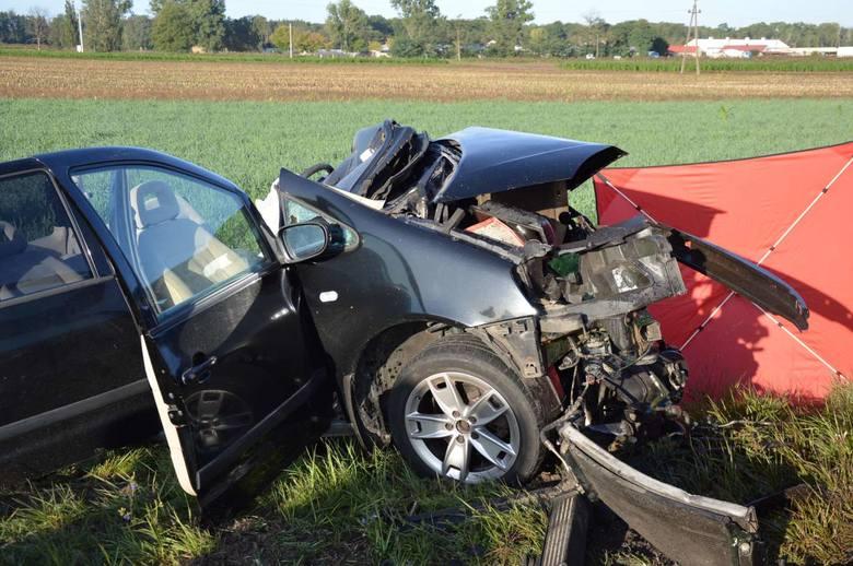 Do wypadku doszło w sobotę, 14 września około godz. 7 rano na drodze wojewódzkiej nr 309 pomiędzy Rawiczem a Bojanowem na wysokości miejscowości Wydartowo