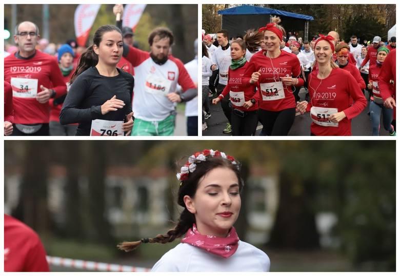 W 101. rocznicę odzyskania niepodległości przez Polskę ponad 1500 zawodników wzięło udział w Biegu dla Niepodległej. Wśród nich znalazło się wiele pięknych