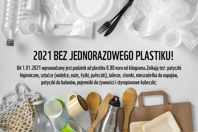 Jednorazowy plastik. W 2021 pożegnamy się z plastikowymi mieszadełkami, słomkami czy sztućcami