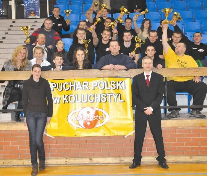 Białostocka ekipa miała się z czego cieszyć po lubelskich zawodach Pucharu Polski. Łup medalowy był bardzo pokaźny.