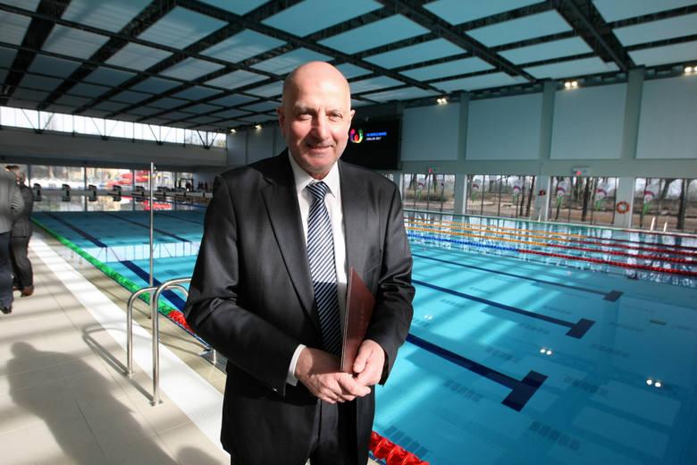 Otwarcie basenu przy ulicy Wejherowskiej. Pływalnię przebudowano na The World Games 2017.
