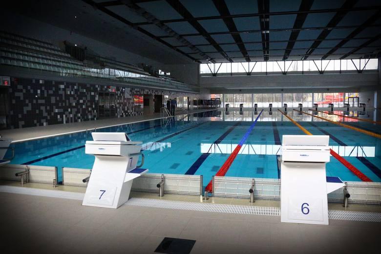 Ważny test pływalni przy Wejherowskiej przed World Games 2017