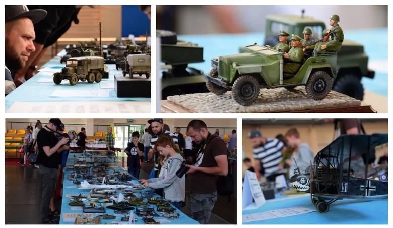 To był weekend pełen atrakcji dla modelarzy tworzących modele samolotów, okrętów, czołgów i innych pojazdów plastikowych i kartonowych. Wszystko za sprawą