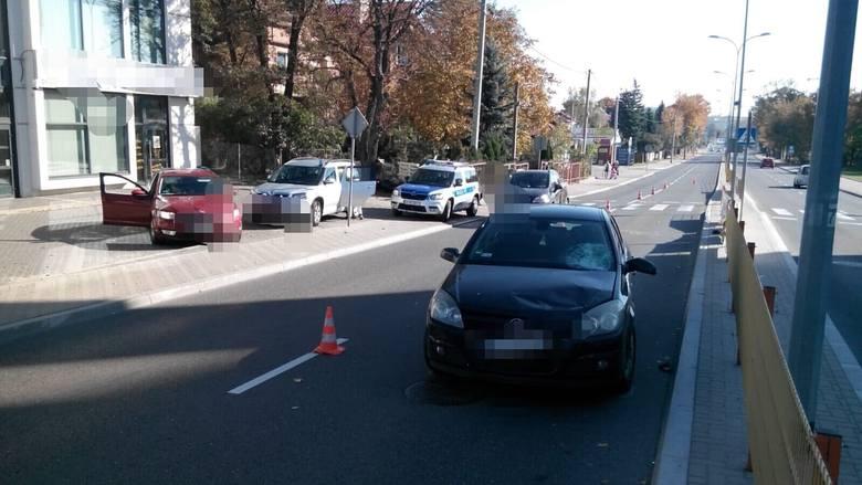 Do wypadku doszło dzisiaj przed południem, około godziny 11, na ul. Antoniuk Fabryczny w Białymstoku.