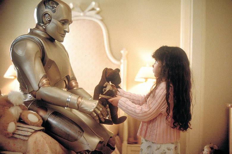 """""""Człowiek przyszłości""""Pełne wzruszeń kino z laureatem Oscara Robinem Williamsem w roli robota, który chciał zostać człowiekiem. Obraz"""