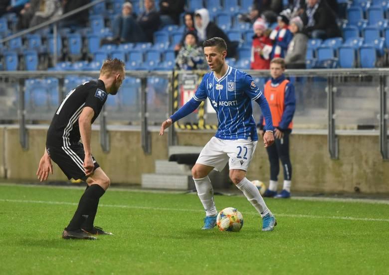 Lech Poznań wygrał z ŁKS-em Łódź 2:0 i zanotował trzecie zwycięstwo z rzędu bez straty gola, a kilku piłkarzy błysnęło. Sprawdźcie nasze noty po spotkaniu