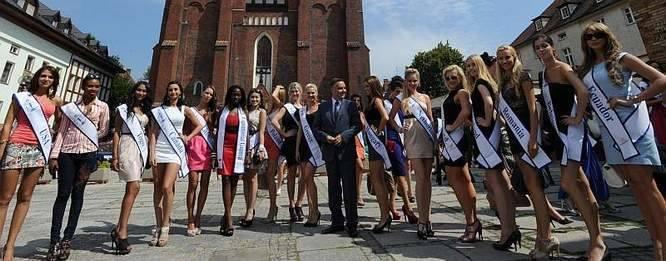 ubiegłym roku piękne uczestniczki konkursu odwiedziły już Opole.