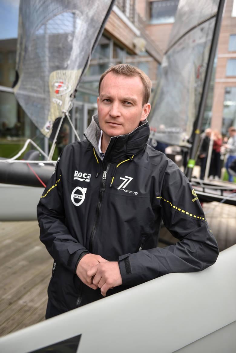 Piotr Tarnacki i żeglowanie w trzech wymiarach