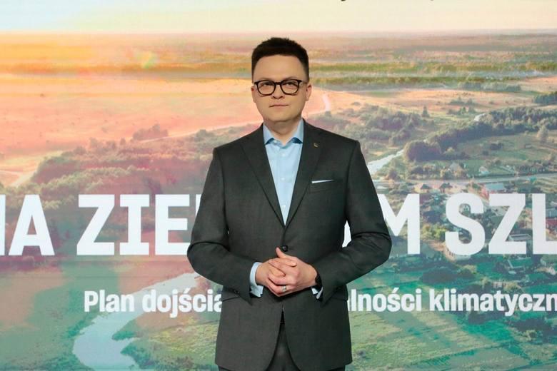 29.03.2021 warszawa ruch polska 2050 o neutralnosci klimatycznej n/z szymon holowniafot. adam jankowski / polska press