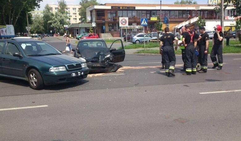 Na skrzyżowaniu ul. Niemodlińskiej z Dambonia często dochodzi do wypadków. Światła mają poprawić bezpieczeństwo