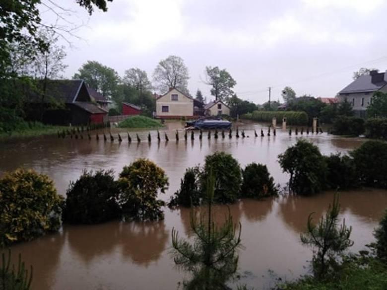 Podtopienia i zalania w Małopolsce i na Podkarpaciu