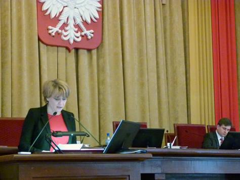 Prezydent Hanna Zdanowska przedstawiła projekt przyszłorocznego budżetu Łodzi.