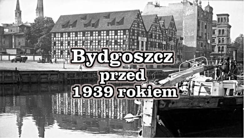 Tak prezentowała się Bydgoszcz przed nadejściem 1939 roku. Wiele miejsc i budynków nie przetrwało próby czasu i możemy je tylko oglądać na zdjęciach.