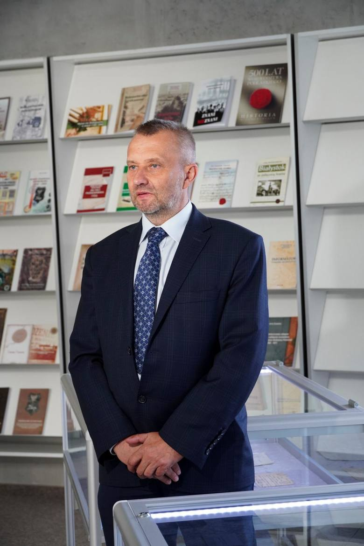 Marek Kiietliński, dyrektor Archiwum Państwowego w Białymstoku