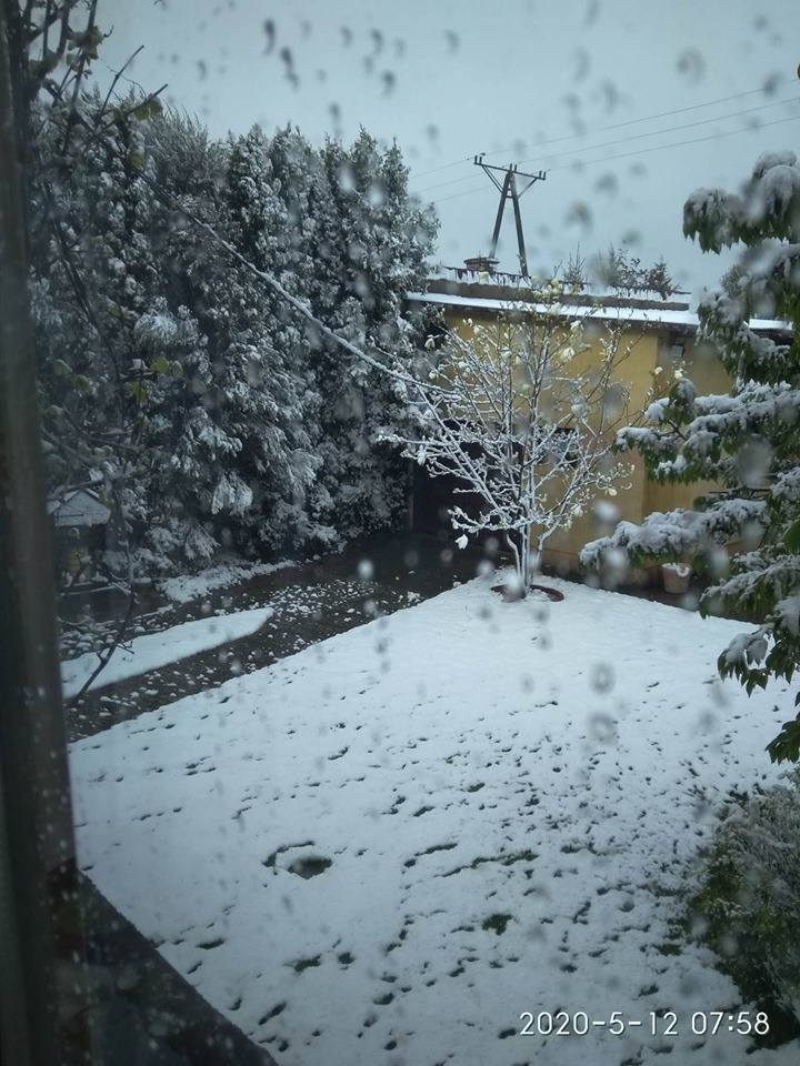 Zima wróciła w okolice Królowego Mostu