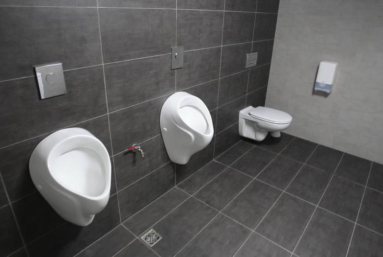 Szczecin jak Soczi? Toaleta koedukacyjna w hali Arena Szczecin. Dla odważnych i wyzwolonych ;-)