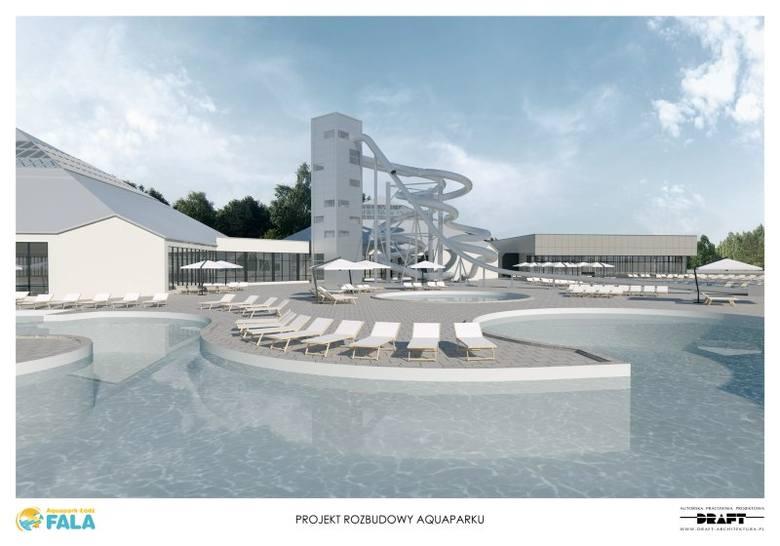 Aquapark Fala będzie rozbudowany [wizualizacja]