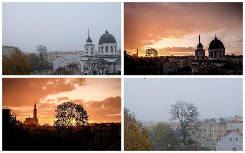Białystok we mgle