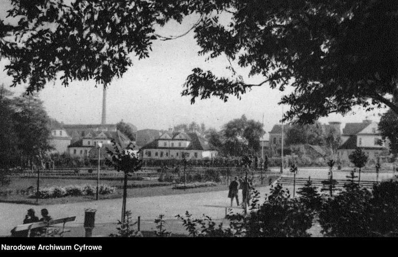 Tak wyglądała kolonia przed wojną.
