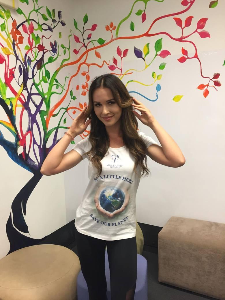 Anita Wyka ze Staszowa pięknie prezentowała się w finale Miss Earth Poland 2018 [ZDJĘCIA]