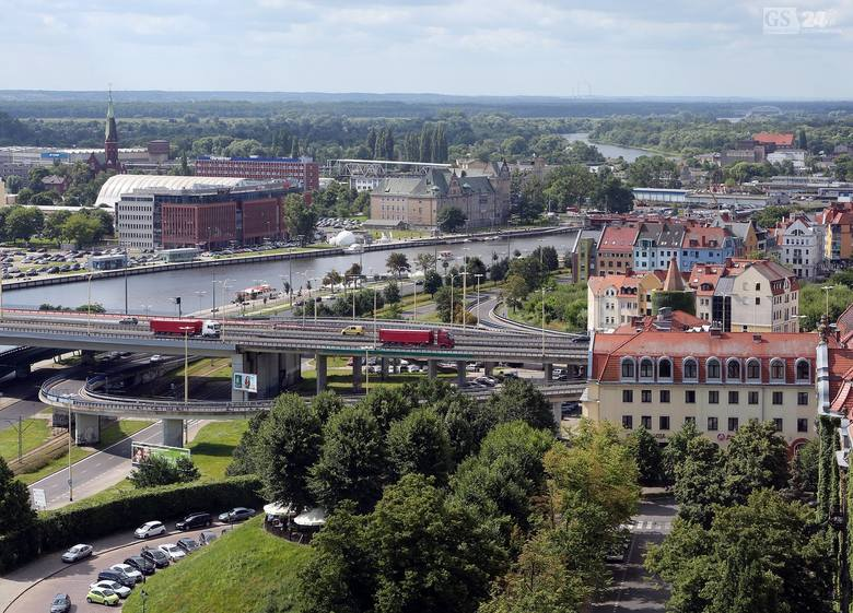 Jak wygląda Szczecin z wysokości kilkunastu pięter? Właśnie tak! Zobacz także: Ulubione lody szczecinian? Zapytaliśmy!