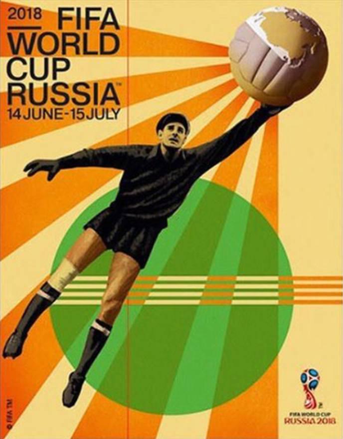 Każde wielkie wydarzenie, a takim niewątpliwie są mistrzostwa świata w piłce nożnej, musi mieć swój oficjalny plakat. Niedawno  poznaliśmy plakat zbliżających
