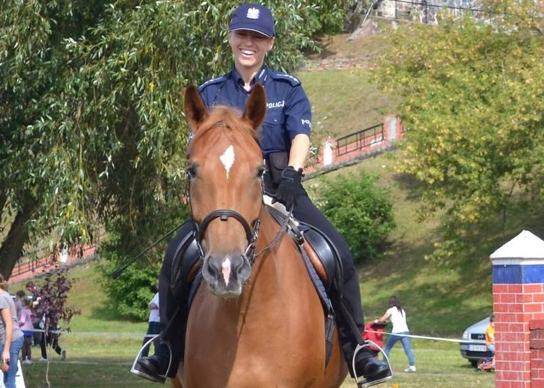 Starszy aspirant Agnieszka Marcinkowska jeździ konno codziennie, jeśli tylko czas pozwala. I pogoda. Nie może być niebezpiecznych warunków, przede wszystkim