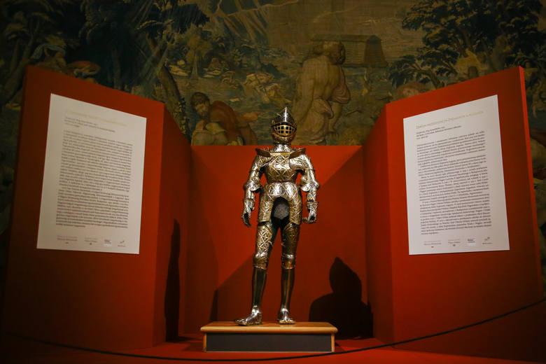 Bezcenną zbroję młodego króla Zygmunta Augusta będzie można oglądać bezpłatnie na Wawelu od 18 lutego do 28 lutego