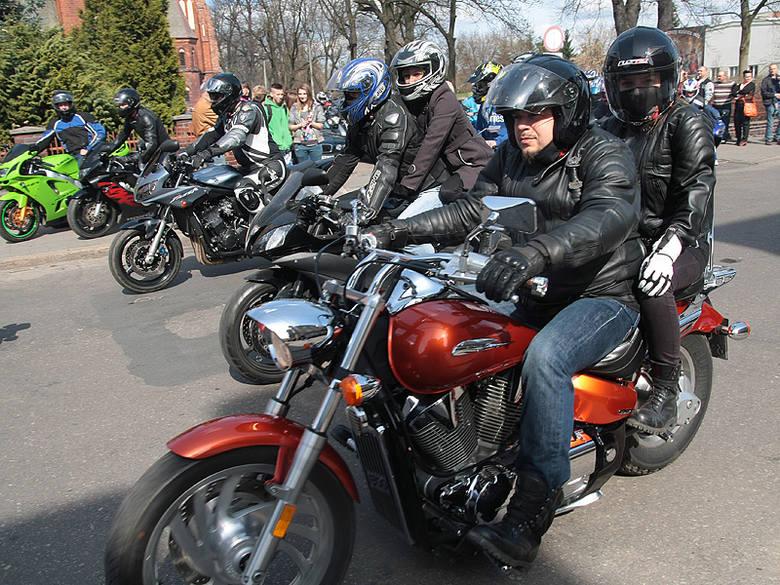 Otwarcie sezonu motocyklowego w Grudziądzu [zdjęcia]