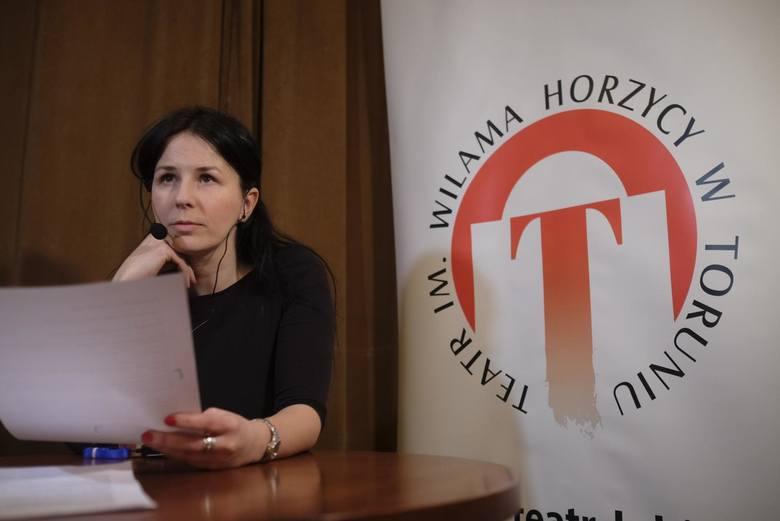 Na prezentacji nowego sprzętu lektorką była Mirosława Sobik