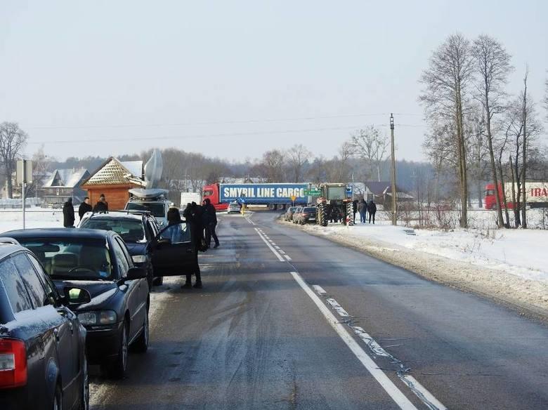 Protest rolników w Warszawie 6.02.2019. Nasi rolnicy pod Pałacem Prezydenckim (zdjęcia)