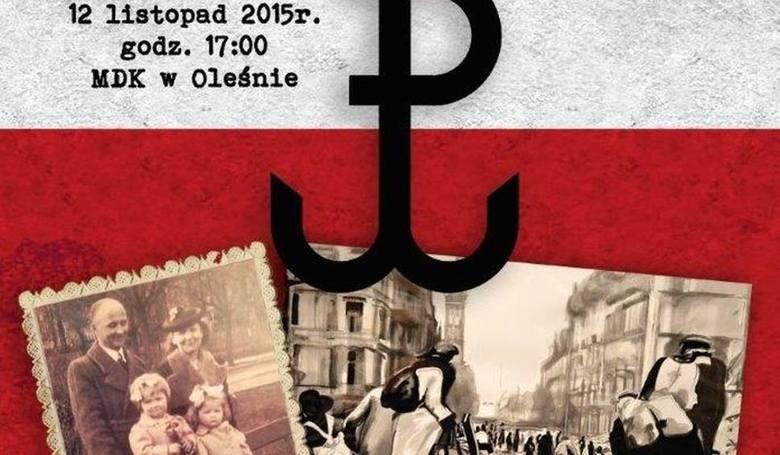 """""""Powstanie warszawskie we wspomnieniach mieszkanki Olesna"""" - 29. Czwartkowe Spotkanie Muzealne w Oleśnie."""