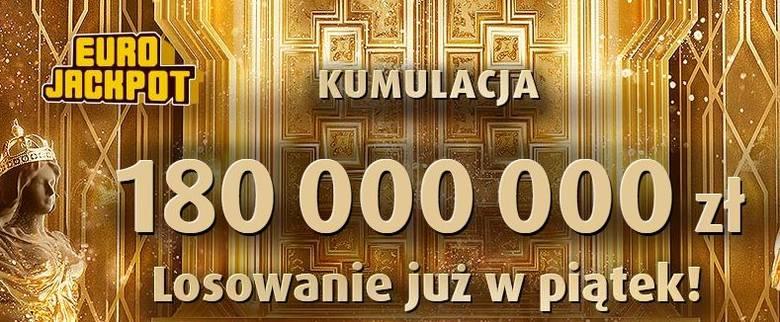 EUROJACKPOT WYNIKI 7.06.2019. Eurojackpot Lotto losowanie 7 czerwca 2019. Do wygrania jest 180 mln zł! [wyniki, numery, zasady]