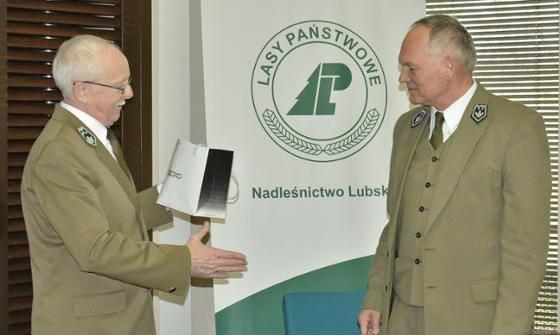 Zastępca Nadleśniczego Nadleśnictwa Lubsko Józef Mikołajczyk został odznaczony Złotym Kordelasem Leśnika Polskiego.