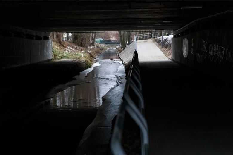 Nowa ścieżka rowerowa pod mostami (zdjęcia, wideo)