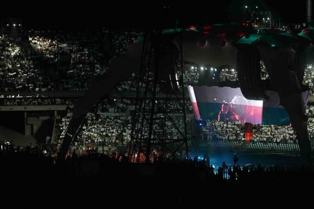 Dziesięć lat temu zespół U2 po raz drugi zagrał na Stadionie Śląskim w Chorzowie