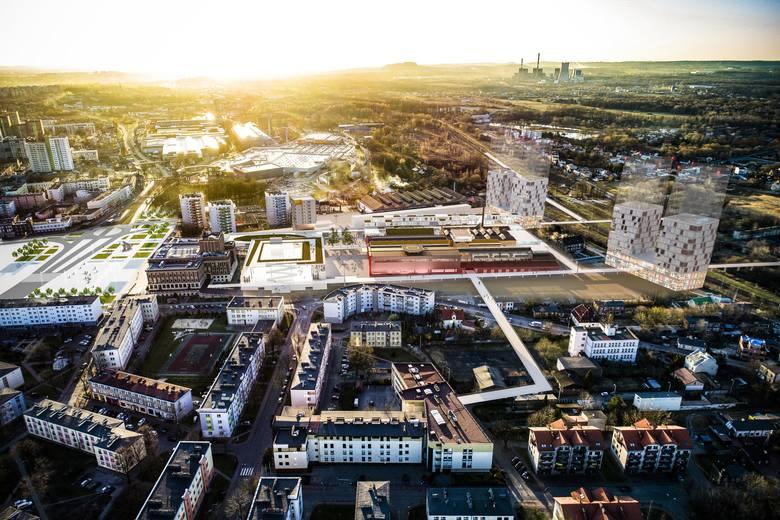 Tak może wyglądać nowe śródmieście Dąbrowy Górniczej